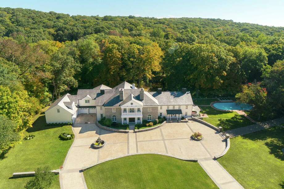 The property at 637 Valley Road is on the market for $5,995,000. Photo: Contributed Photo / New Canaan News
