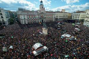 Huge Madrid rally boosts Spanish radical leftist party Podemos - Photo