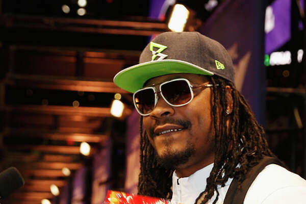 A Skittles ad has been a sweet success for Marshawn Lynch.