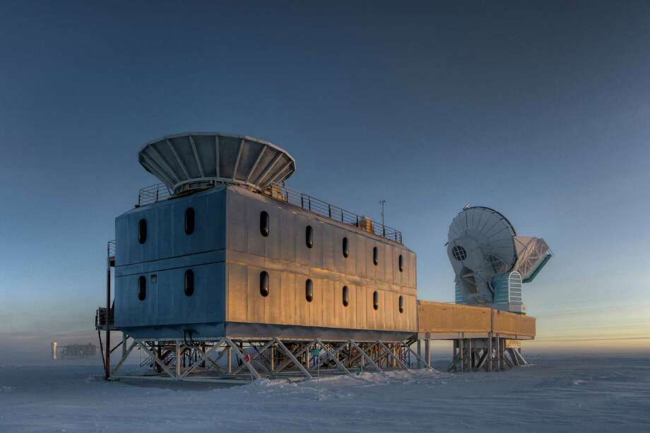 The Dark Sector Lab, which houses the BICEP2 telescope, is about a mile from the geographic South Pole. Scientists thought that the telescope had detected ripples in space from the beginning of time, potentially proving a model of the Big Bang. But now a joint analysis of that data says the finding was wrong. Photo: STEFFEN RICHTER, HO / HARVARD UNIVERSITY