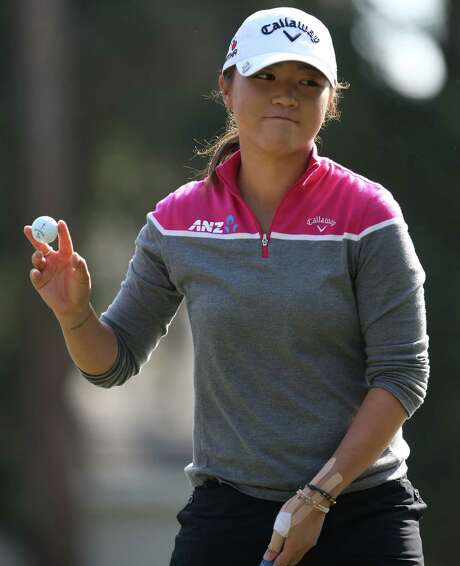 Lydia Ko, of New Zealand, ascended to the top ranking in the world among women golfers after recording a second-place finish in the Coates Golf Classic on Saturday. Photo: Bruce Ackerman, MBO / The Ocala Star-Banner