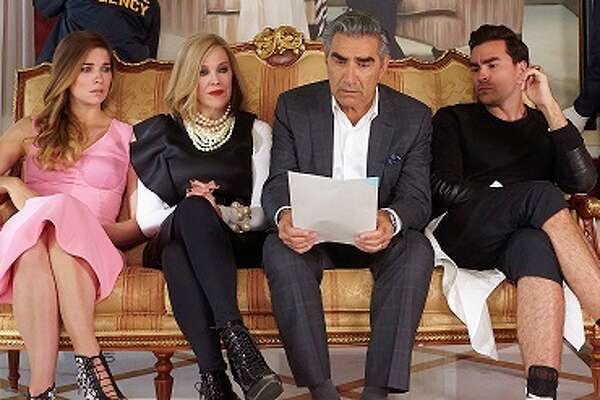 Eugene Levy and Catherine O'Hara's new comedy, 'Schitt's Creek,' premieres on new network, Pop, on Wednesday, February 11th at 9 p.m.