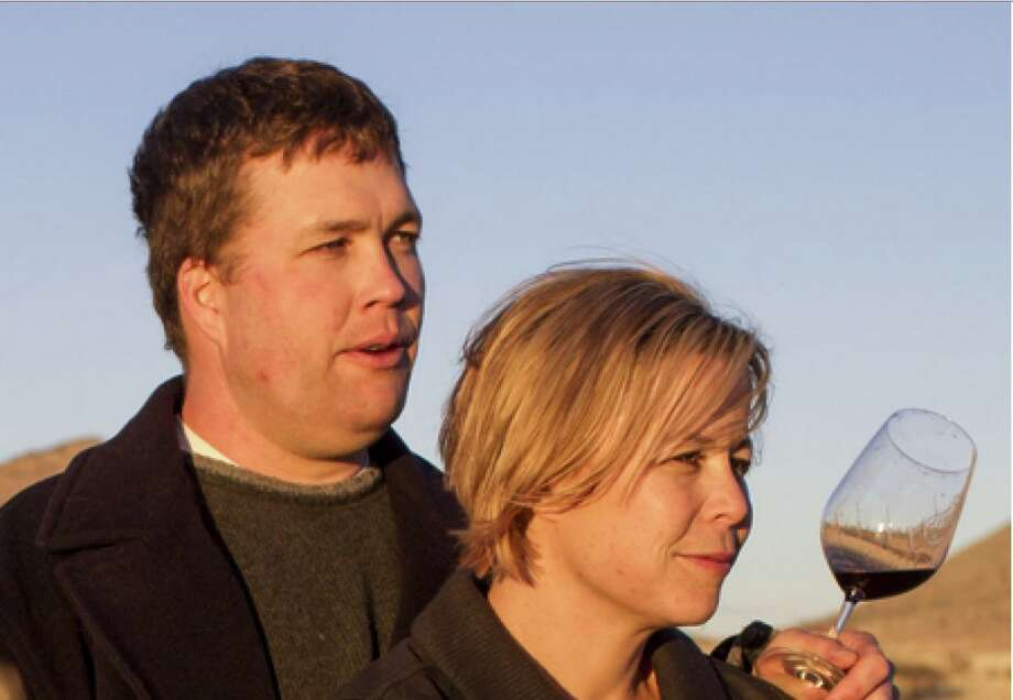 Todd and Kelly Bostock of Dos Cabezas WineWorks in the high desert in Sonoita, Ariz. Photo: Pat Shannahan