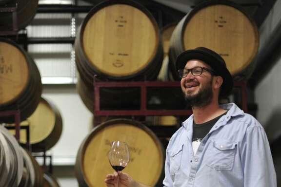 Mike Roth at Martian Ranch & Vineyard in Los Alamos (Santa Barbara County).