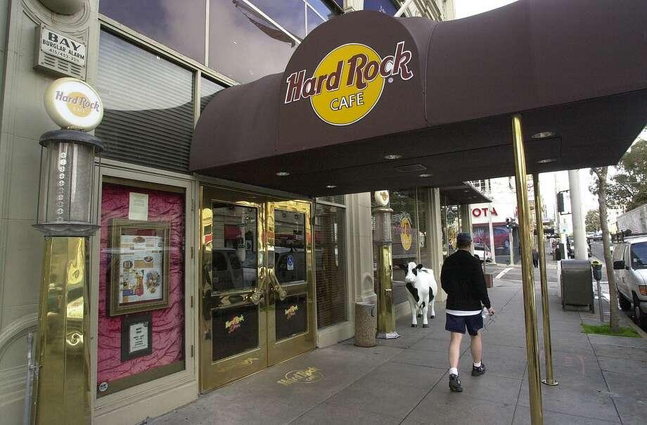 Hard Rock Cafe San Francisco Van Ness Avenue