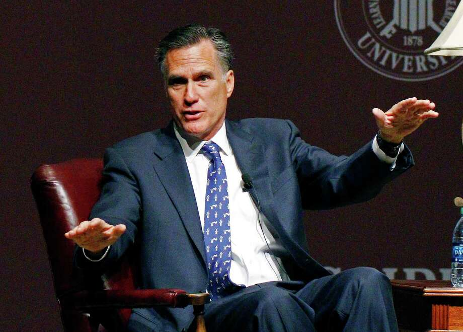 Mitt Romney's exit from the 2016 race for president unleashed a frenzy of fresh fundraising and has set off a new race for the backing of donors who had remained loyal to the last Republican nominee. Photo: Rogelio V. Solis /Associated Press / AP