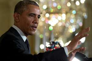 Obama backs 1-time tax on foreign profits to pay for public works - Photo