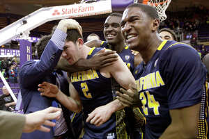 Singer's late three-pointer leads Cal basketball to win over Washington - Photo