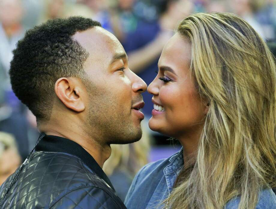 """Sure, John Legend sings """"All of me/loves all of you.../with all your flaws and imperfections."""" He's married to model Chrissy Teigen. Not a whole lot of flaws there. Photo: Anthony Behar, McClatchy-Tribune News Service / SIPA USA"""