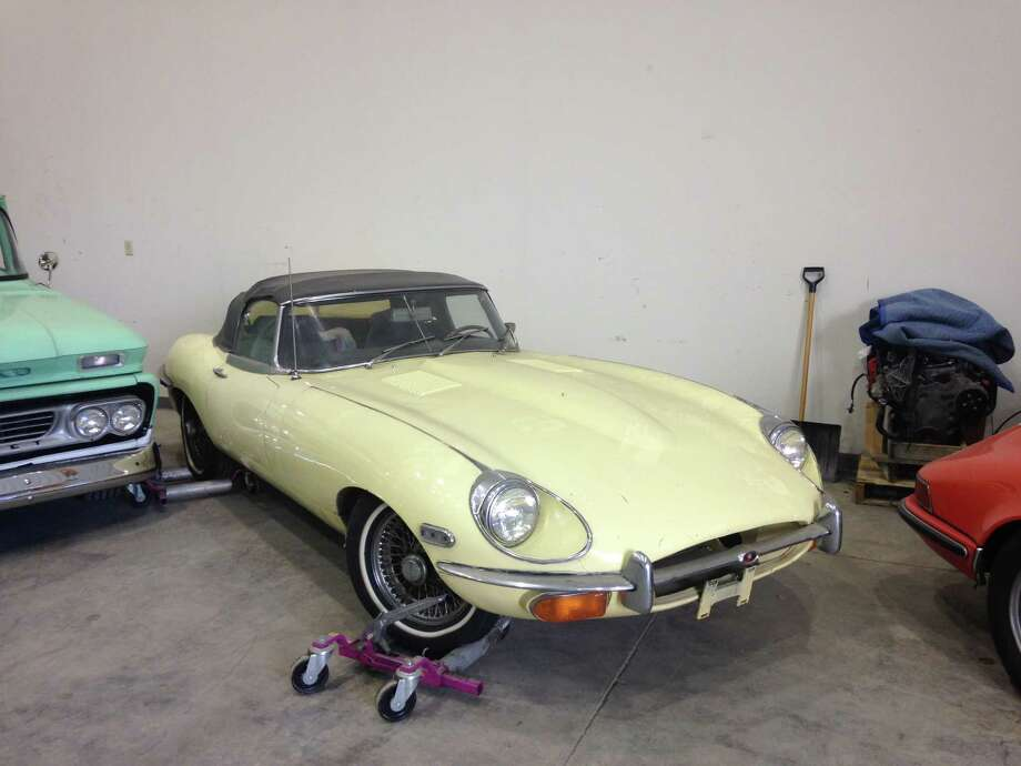 This 1969 Jaguar XKE was recently reovered by state Department of Motor Vehicles investigators in a Saratoga County auto shop 45 years after it was stolen from a Massachusetts car dealer. The Jaguar, considered one of the fastest cars on the market at the time, has been returned to the dealer's heirs.