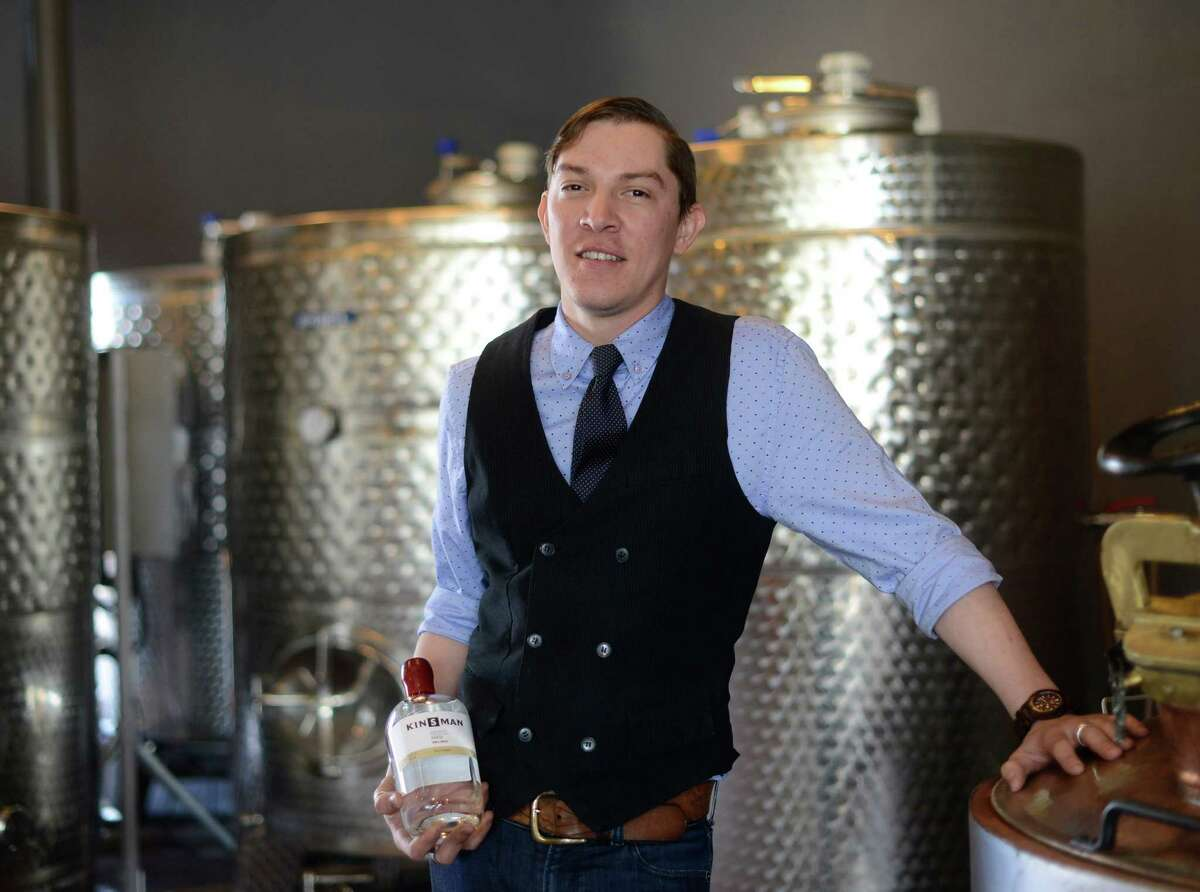 Nicholas Kenna is the bartender at Dorćol Distilling Co, the first distillery in the San Antonio area to hire a bartender.