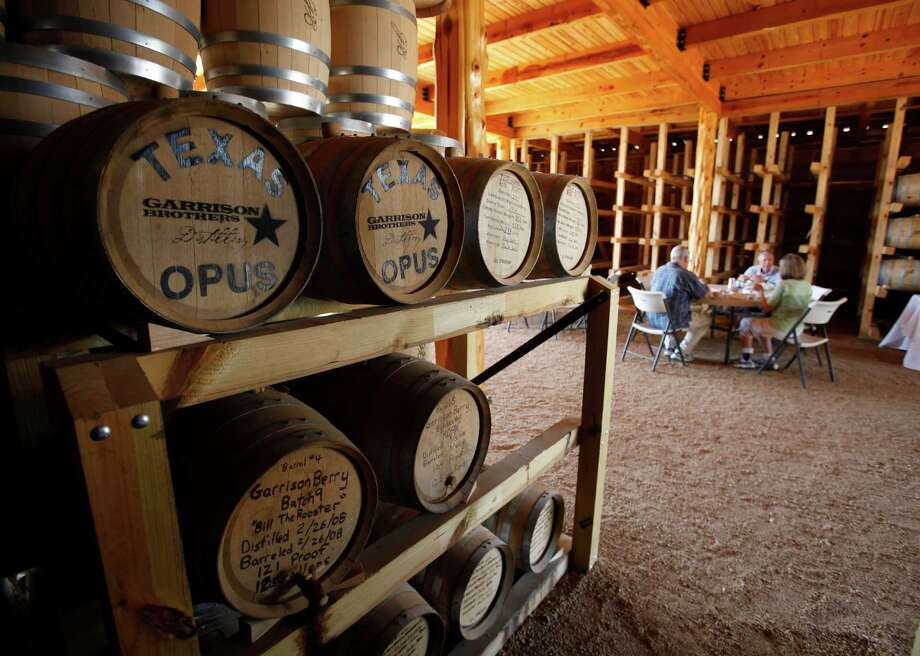 A storage and tasting facility Photo: William Luther /San Antonio Express-News / 2011 SAN ANTONIO EXPRESS-NEWS