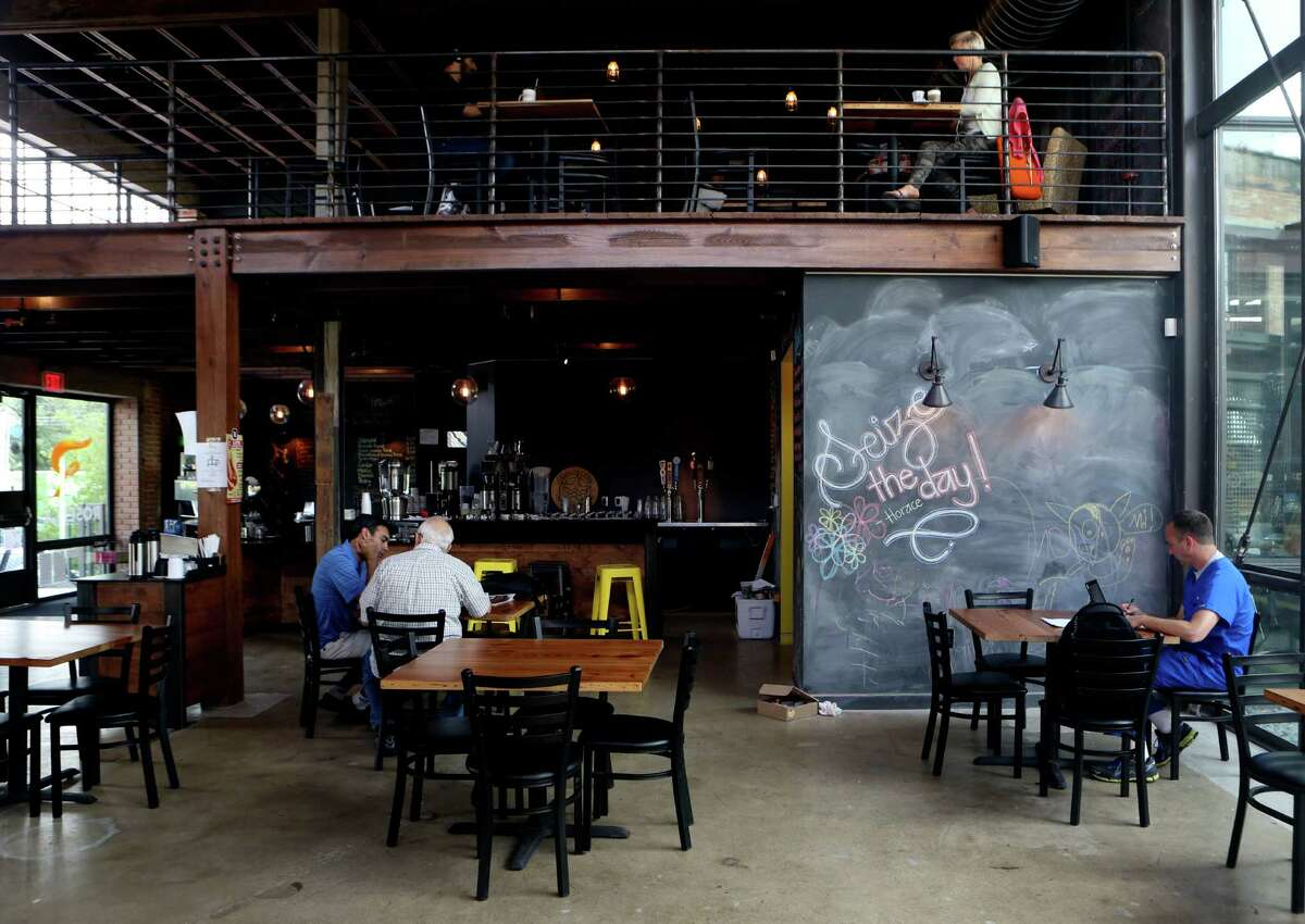 Rosella Coffee is in the River North neighborhood and provides coffee, food, beer and wine.