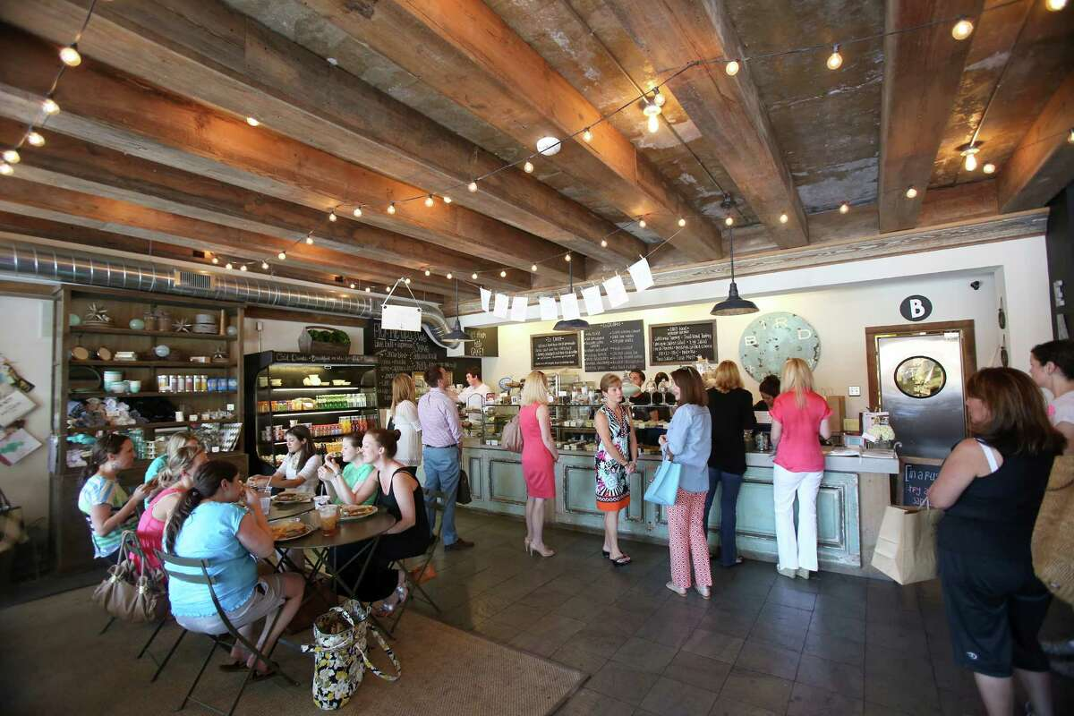 Bird Bakery fills up for lunch fast.