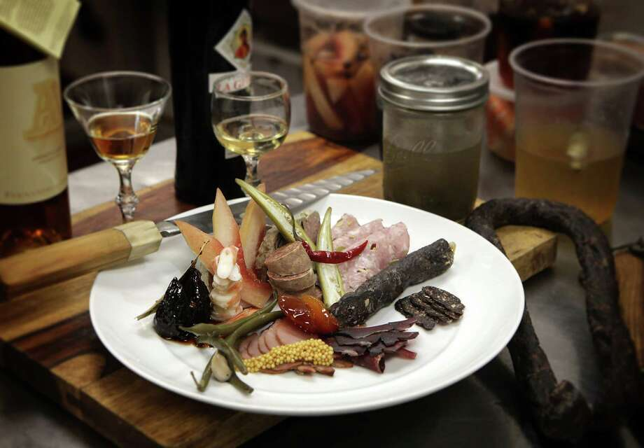 Charcuterie plate Photo: Bob Owen / San Antonio Express-News / © 2012 San Antonio Express-News