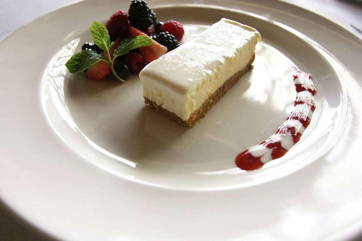 Aldo Ghaffari of Aldo's Ristorante Italiano shared his cheesecake recipe that his mentor shared with him many years ago.