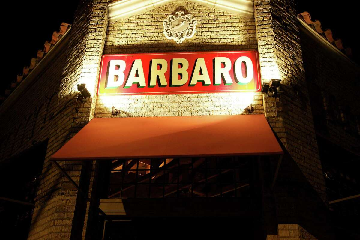 The sign outside at Barbaro.