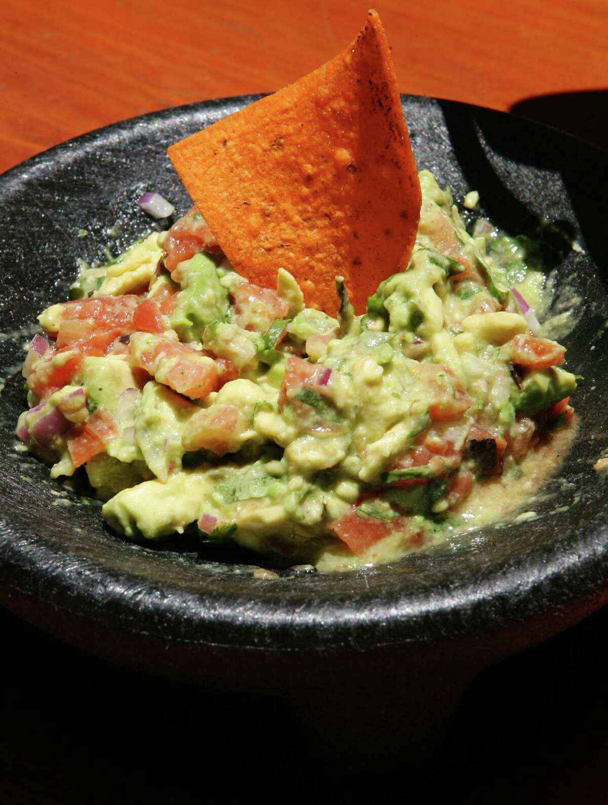 Guacamole made at tableside
