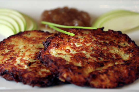 German potato pancakes at Little Gretel in Boerne.