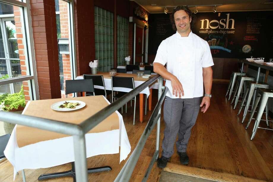 Executive Chef Luca Della Casa of  Nosh. Photo: Express-News File Photo / © 2014 San Antonio Express-News