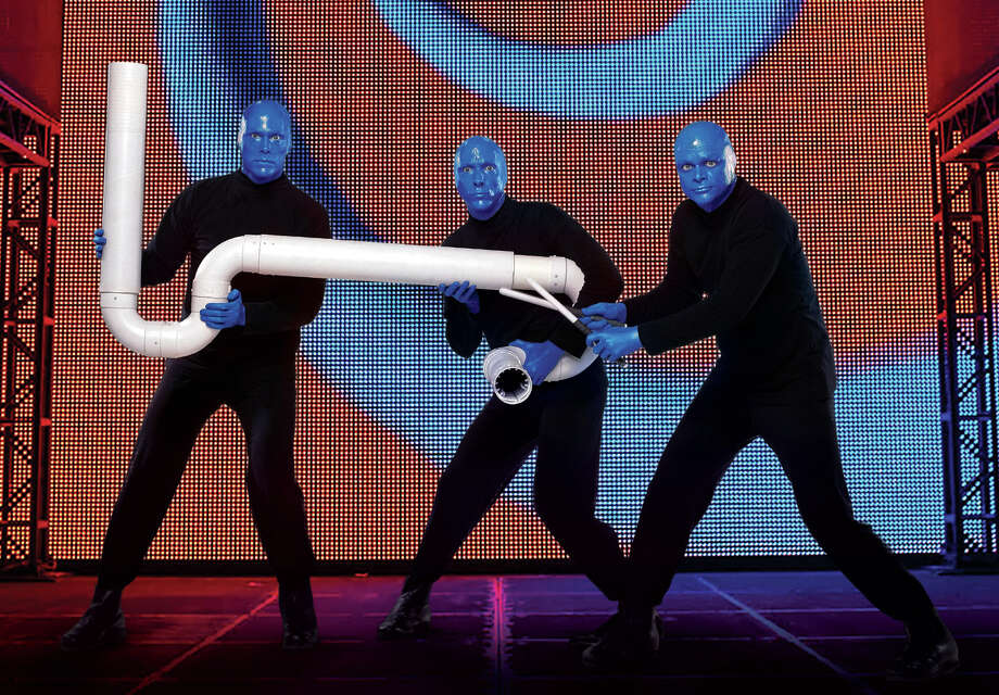 "The national touring company of ""Blue Man Group"" is stopping at the Palace Theater in Waterbury for four shows, starting Friday. Find out more.  Photo: Contributed Photo / Connecticut Post Contributed"
