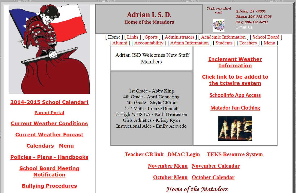 Adrian: 333 per 1,000 students