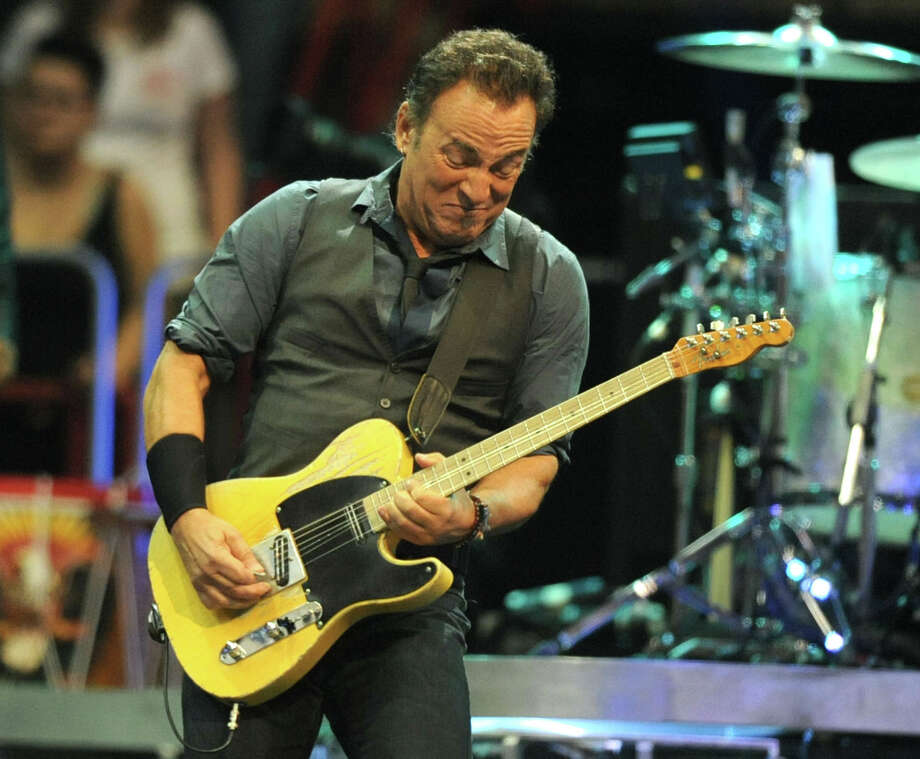 "Bruce Springsteen & the E Street Band, Feb. 8, Times Union Center. The Boss and band will perform ""The River"" in its entirety.  Photo: Lori Van Buren / 00017239A"