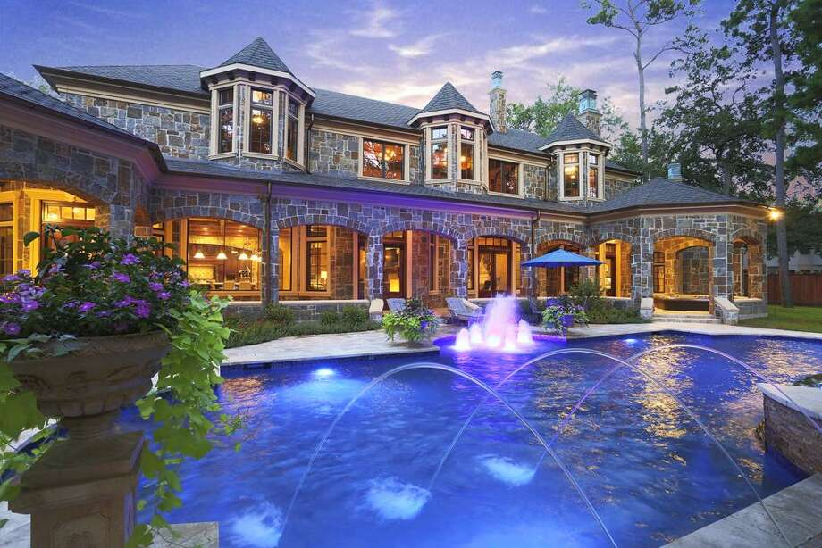 Reduced by 35.47%5 Sleepy Oaks Circle: $5,775,000 / 7 bedrooms / 7 full and 2 half bathrooms / 12,364 square feet Photo: Houston Association Of Realtors