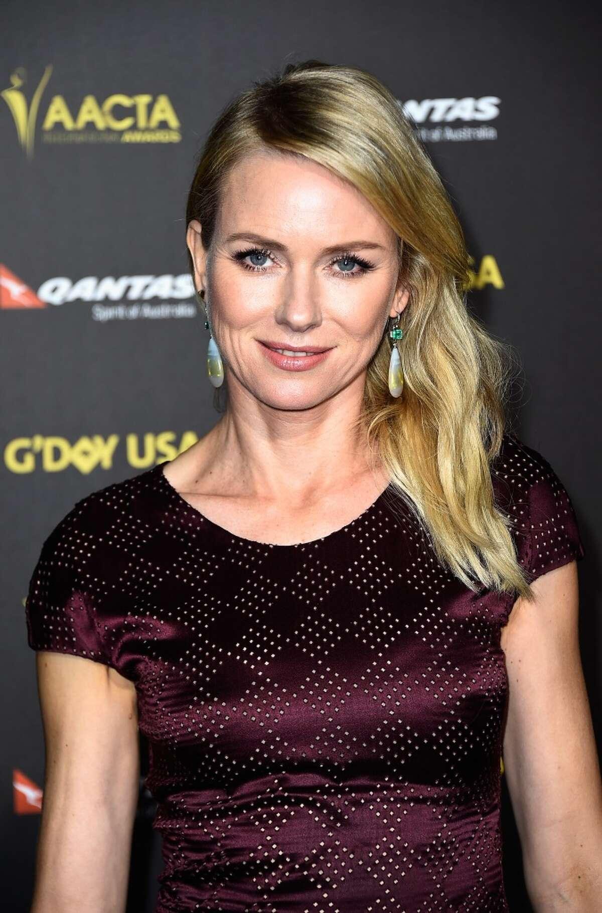 "#29: Naomi Watts Notable movies: ""The Divergent Series,"" ""Birdman,"" ""St. Vincent"""