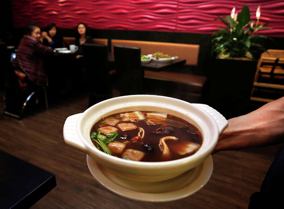 At Chilli Padi, a Chinese-Malaysian restaurant in in Oakland's Chinatown, the bak kut teh — an herbal broth soup, above — is a standout Photo: Liz Hafalia / The Chronicle / ONLINE_YES