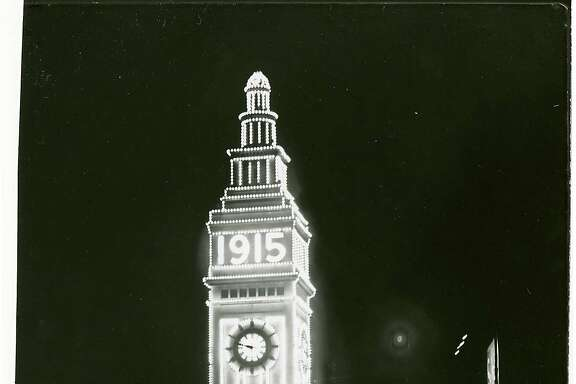 San Francisco's Ferry Building as it looked during the 1915 Panama Pacific International Exposition will be replicated during a centennial celebration of the popular fair.