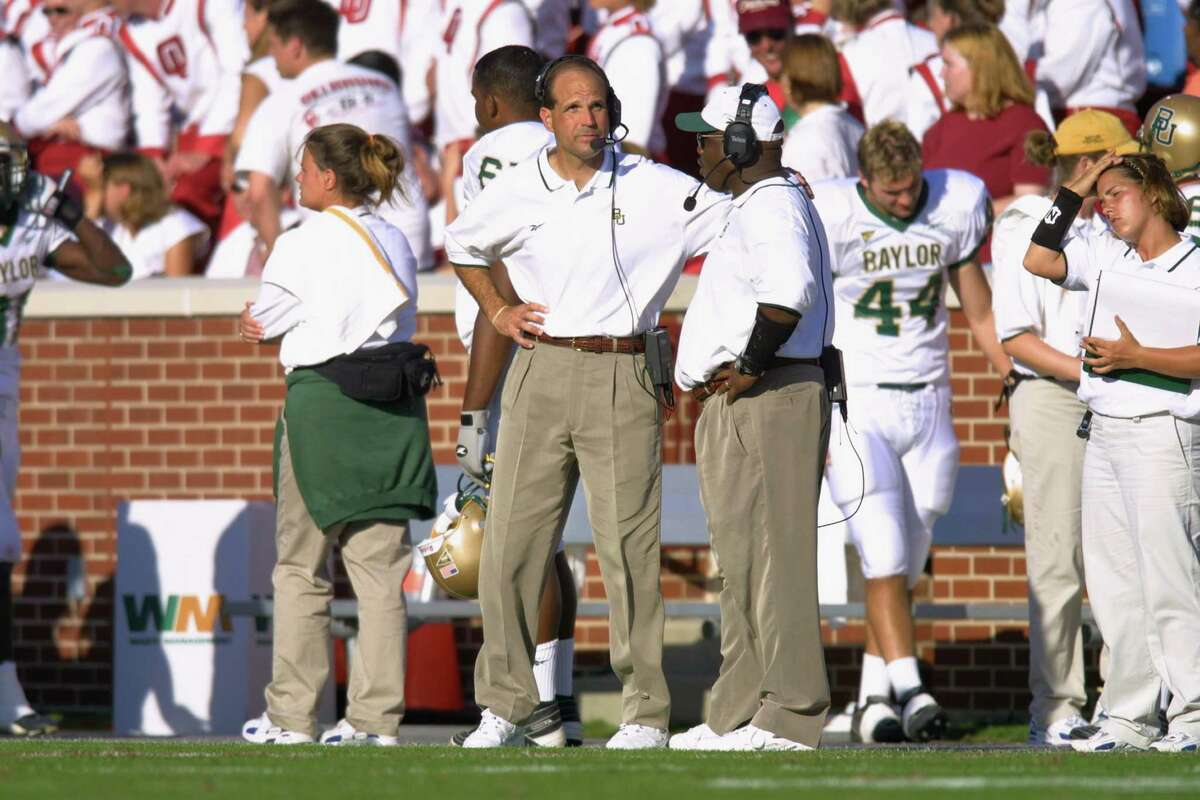 13. Kevin Steele, 1999 NCAA football season In his second game as Baylor's head coach, the Bears appeared to have a win over UNLV locked up. But instead of kneeling the ball, Steele opted to go for another touchdown from the UNLV 8. But the ball was dislodged from Baylor running back Darrell Bush and UNLV's Kevin Thomas returned it 99 yards for the winning touchdown as time expired. Steele said afterward,