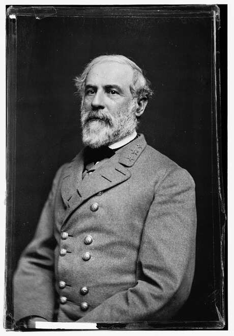 Gen. Robert E. Lee 1846, 1855-61 Gen. Robert E. Lee. As a young officer, Lee entered Texas as he fought in the Mexican-American War and spent considerable time as a commander here and elsewhere in the state. He served with the 2nd Cavalry from 1855-61, commanding the San Antonio barracks in 1857 and the Department of Texas in 1860. He later handed over command of the department to Maj. Gen. David E. Twiggs and left Texas for Virginia. Photo: MCT / Library of Congress