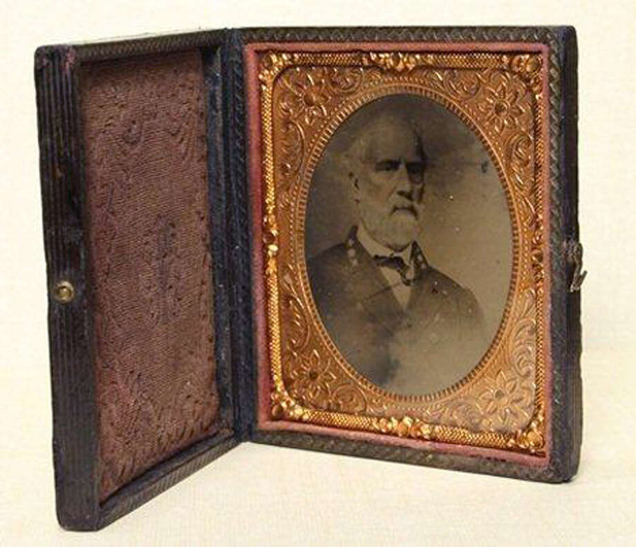 A tintype photograph of Confederate Gen. Robert E. Lee was sold by Goodwill Industries of Middle Tennessee on its online auction site, onlinegoodwill.com, for $23,001 in September 2011. The old photo was spotted in a bin by a Goodwill worker who pulled it out and sent it to Goodwill's online operation. The bin was headed to the outlet store where everything is sold by the pound. It might have gone for a dollar and change there. Photo: Goodwill Industries Of Middle Tennessee / Associated Press / Goodwill Industries of Middle Te