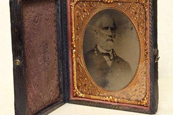 A tintype photograph of Confederate Gen. Robert E. Lee was sold by Goodwill Industries of Middle Tennessee on its online auction site, onlinegoodwill.com, for $23,001 in September 2011. The old photo was spotted in a bin by a Goodwill worker who pulled it out and sent it to Goodwill's online operation. The bin was headed to the outlet store where everything is sold by the pound. It might have gone for a dollar and change there.