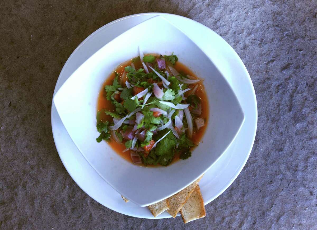 Ceviche from from The Sandbar Fish House & Market.