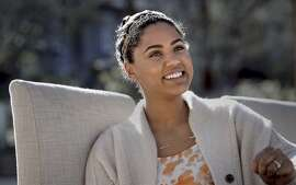 Ayesha Curry the wife of Warriors basketball star Stephen Curry at their Orinda, Calif. home, as seen on Tues. January, 20, 2015.