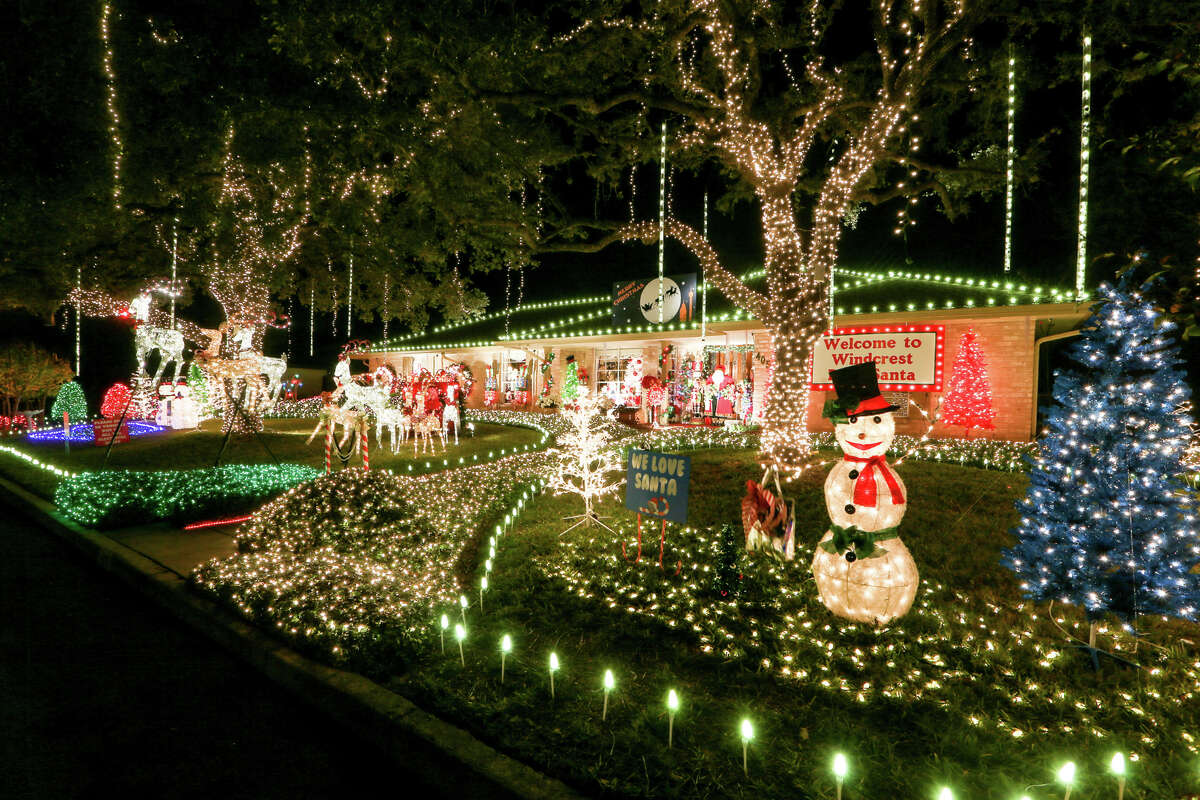 Windcrest As one of the the city's most popular light displays, the theme for this year's light up is