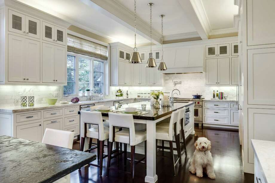 Designer Kimberley Larzelere specializes in kitchen design and offers tips on five high-impact areas from cabinetry to flooring to lighting. Photo: Christopher Stark / ONLINE_YES