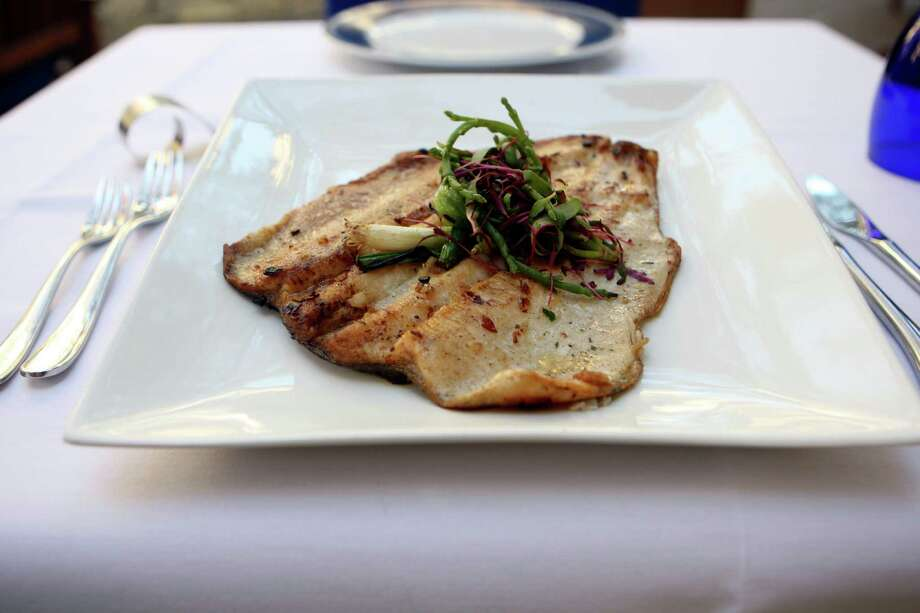 Trout entreé from Ostra. Photo: Express-News File Photo / hmontoya@express-news.net