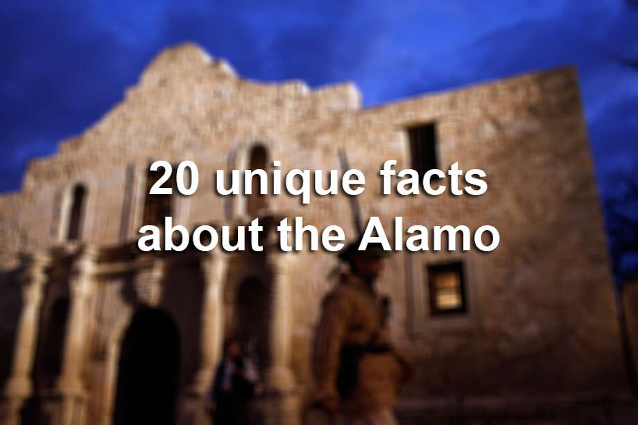 The Alamo is one of the top iconic destinations of the South, but of course it's much more than that. Here are 20 unique facts that often slip through the history books and guided tours. Photo: San Antonio Express-News