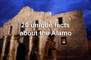 What a Laredo man tried carving into the Alamo - Photo