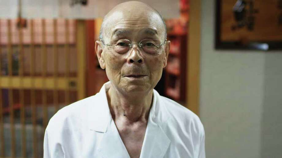 "Jiro Ono, star of the documentary ""Jiro Dreams of Sushi."" Photo: Magnolia Pictures"