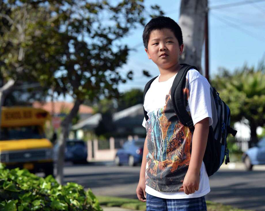 ABC's new family sit-com 'Fresh Off the Boat' tells the story of a fish-out-of-water Asian family from the point of view of 11-year-old Eddie ( HUDSON YANG). Photo: Jordin Althaus, ABC / © 2015 American Broadcasting Companies, Inc. All rights reserved.