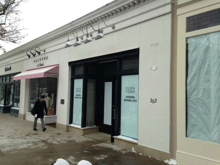 Women's clothing store Eileen Fisher is replacing British shop Jack Wills on Greenwich Avenue, with the shop set to open in the spring. Photo: Maggie Gordon / Greenwich Time