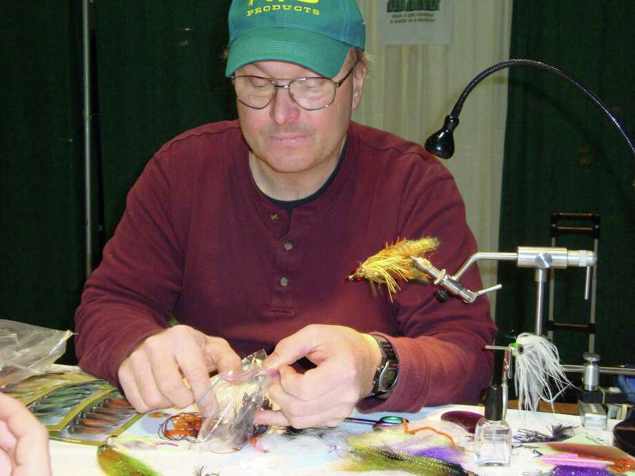 Fly-fishing demonstrations, as well as fly-tying demonstrations, will be part of the ì18th annual Northeast Fishing & Hunting Show,î which will take place Friday, Feb. 13 to Sunday, Feb. 15, 2015, at the Connecticut Convention Center, 100 Columbus Blvd., Hartford, Conn. Photo: Contributed Photo / Stamford Advocate Contributed photo