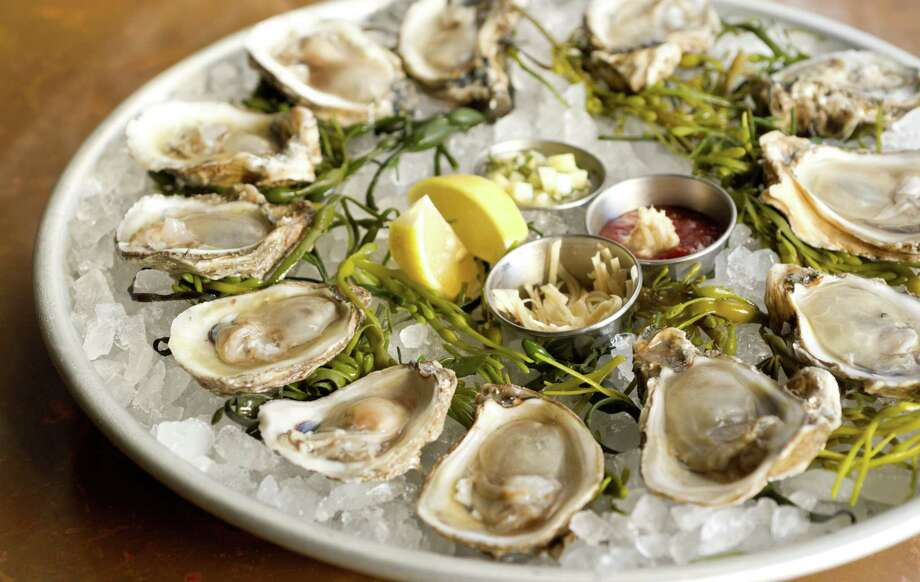 A selection of Gulf and East Coast oysters at Prohibition Supperclub & Bar. Photo: William Hardin / William Hardin Photography