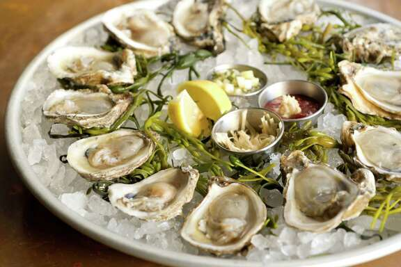 A selection of Gulf and East Coast oysters at Prohibition SupperClub & Bar.