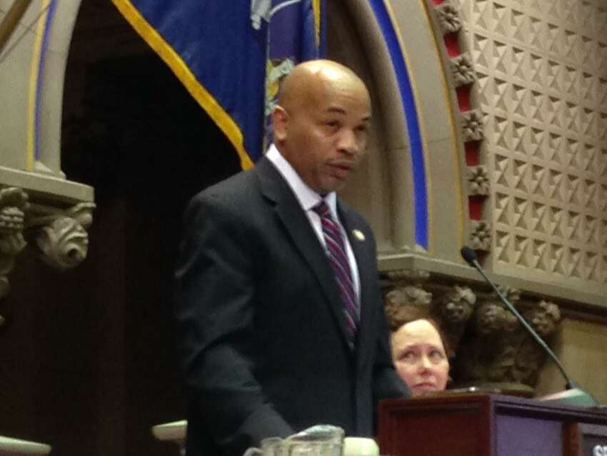 Carl Heastie is elected as Speaker of the State Assembly on Tuesday, Feb. 3, 2015. (Skip Dickstein/Times Union)