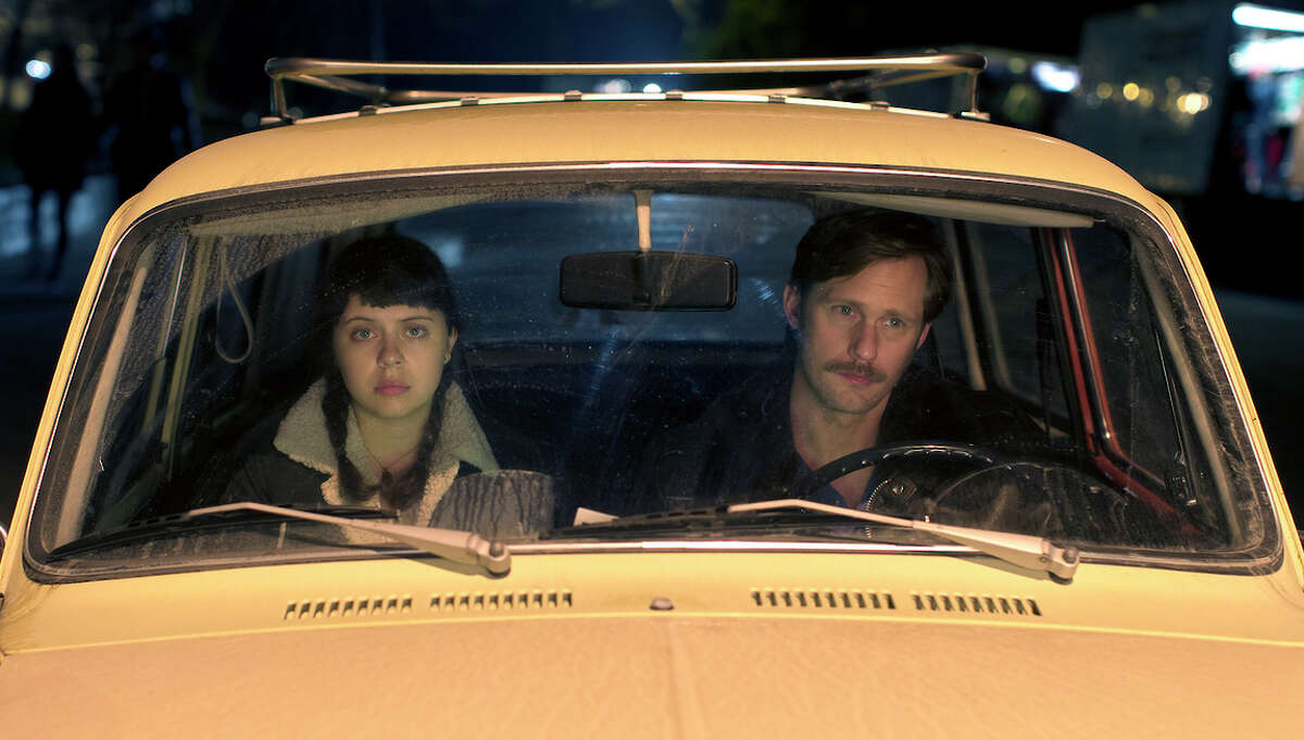 """Bel Powley and Alexander Skarsgard star in """"The Diary of a Teenage Girl,"""" a drama about a 15-year-old sleeping with her mother's boyfriend."""